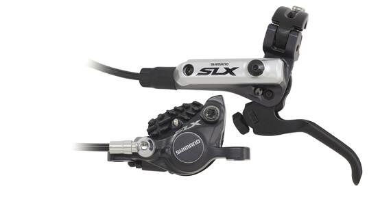 Shimano SLX BR-M675 Hamulec tarczowy przednie koło Ice-Tech z F03C metal czarny